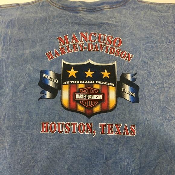 Harley-Davidson Other - VTG 2001 Harley Davidson Houston, Texas shirt S/M
